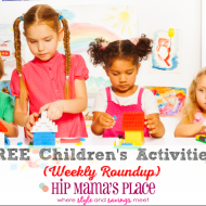 FREE Children's Activities & Weekend Family Entertainment {April 10-12}