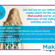 SoCozy Professional Haircare for Kids Event in Bethesda, Maryland + Two Readers Win a SoCozy Haircare for Kids Gift Pack!