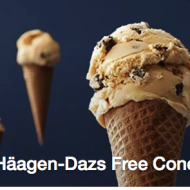 FREE Cone Day at Haagen-Dazs on May 12th