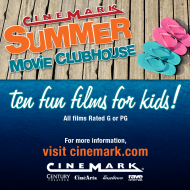 Cinemark Summer Movies: $5 for 10 Movies