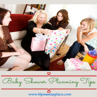 Baby Shower Planning Tips + Recipes and Giveaways from Tastefully Simple