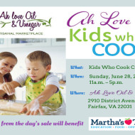 Ah Love Oil & Vinegar (Fairfax, VA): Kids Who Cook Competition on June 28