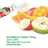 Tajín #ZingWithTajin Twitter Party Today (6/4)