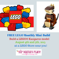 LEGO Store: Register Online for Free Kangaroo Mini Model Build (August 4th or 5th)