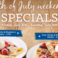 Fourth of July Restaurant Deals and Freebies