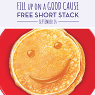 Perkins Restaurant & Bakery: FREE Stack of Pancakes Today (9/24)