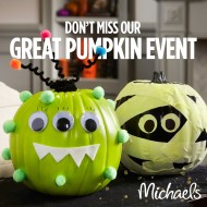 Halloween Craft Event + Money-Saving Coupons from Michaels and Jo-Ann