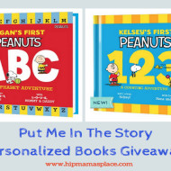 Put Me In The Story: Celebrating Personalized Peanuts Books + Giveaway!