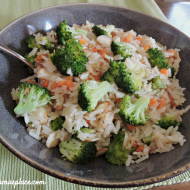 Monday Munchies: Tilapia with Broccoli-Almond Rice #BBSuperFresh