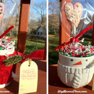 DIY Candy Cane Heart Lollies + Holiday Gift Ideas from Hallmark Gold Crown Store