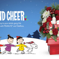 Bring Joy to Your Gang this Christmas with Teleflora PEANUTS Collection #SendCheer