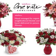 Send Love This Valentine's Day with Teleflora + $100 Teleflora Gift Certificate Giveaway!