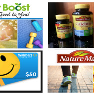 Get Your Daily Boost On with Nature Made + $50 Walmart Gift Cards Giveaway!