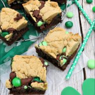 St. Patrick's Day Mint Brookies