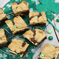Mint Chocolate Chip Brookies