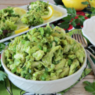 Lightened Up Avocado Chicken Salad
