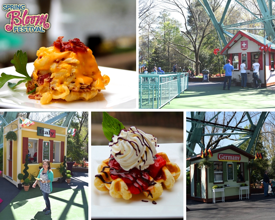 a visit to italy, germany and switzerland at King's Dominion Spring Bloom Festival