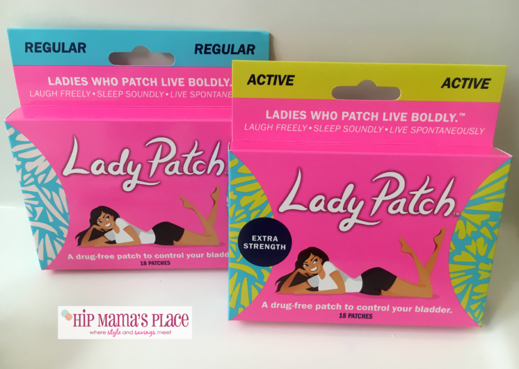 With age comes grace, knowledge and, for many, a leaking bladder. Take control of your bladder with lady patch. Check out my review!