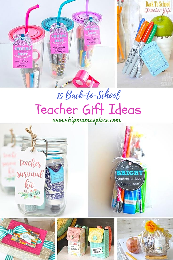 Teachers are amazing and back to school is fast approaching. Here are 15 back to school teacher gift ideas that are sure to delight any teacher!