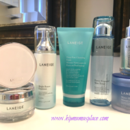 Korean Beauty Techniques Are In + My Review of LANEIGE Bright Renew Skincare Line and a Giveaway!