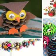 20 Adorable Pinecone Crafts for Kids