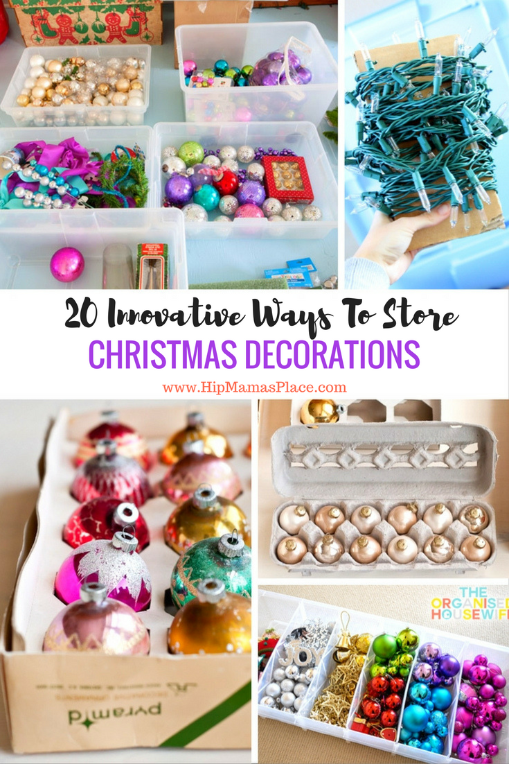 20 Innovative Ways To Store Your Christmas Decorations