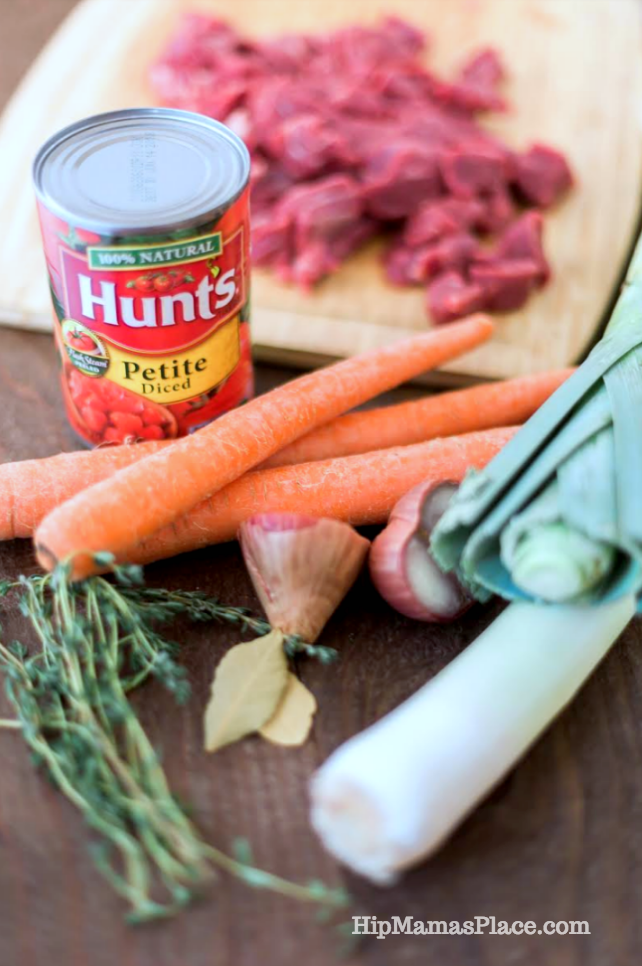 You'll love my recipe for Beef Stew with Leeks! This recipe for hearty Beef Stew with Leeks is delicious and satisfying. It's the perfect 'comfort food' to warm you up in this cold weather!