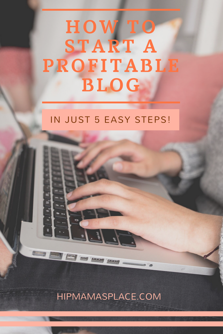 Here is a super easy guide to start a blog in just 5 easy steps!