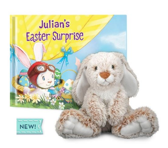 An Easter Surprise Book and Plush Gift Set