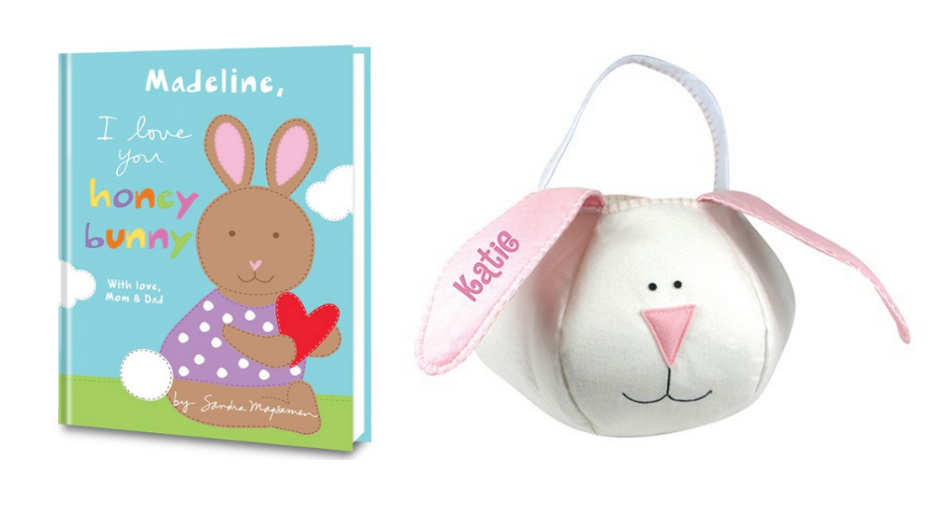 Personalized Book and Personalized Easter Basket giveaway from Put Me In The Story!