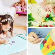 Inspire Creativity In Your Children with Seedling's Crafting Kits + Easter Crafts Giveaway!