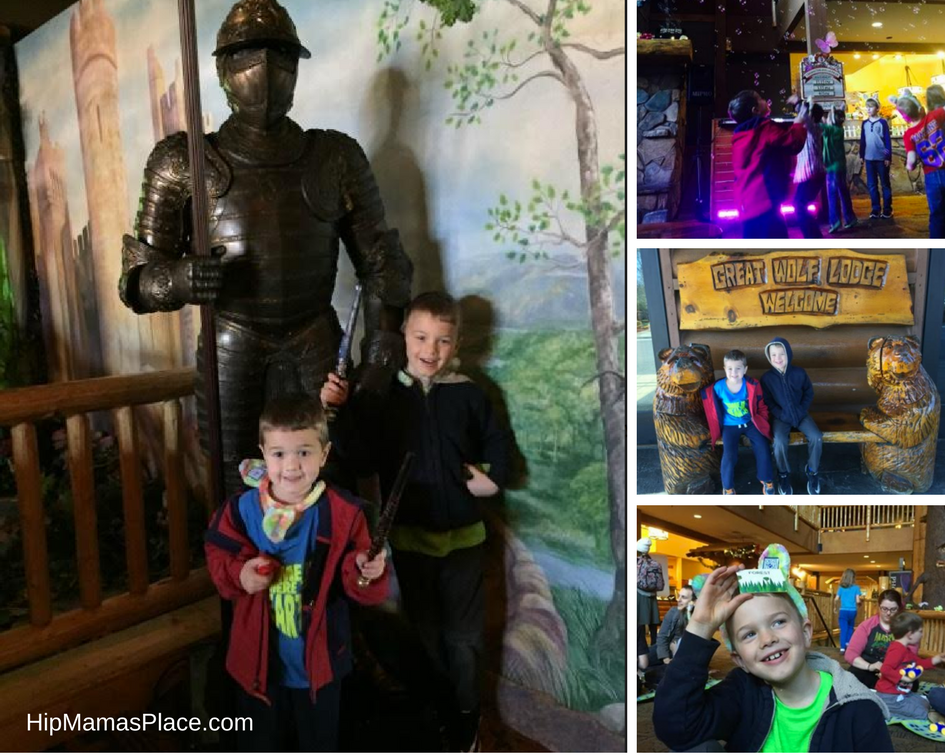 MagiQuest interactive game at the Great Wolf Lodge in Williamsburg, Virginia