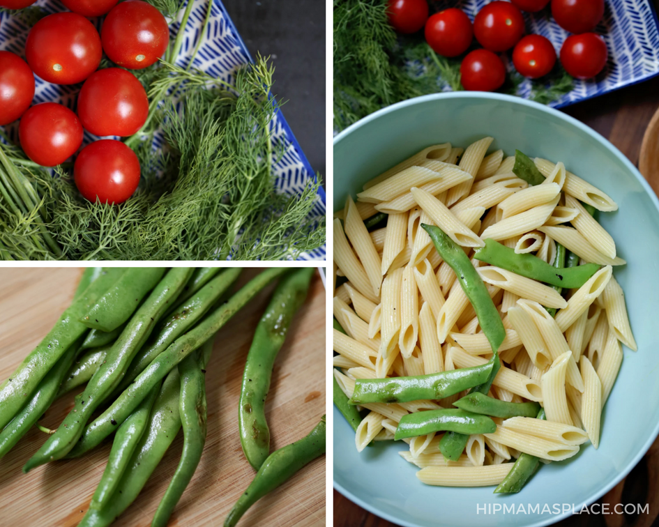 The added zig of fresh dill in this pasta salad recipe makes it depth of flavor. Check out the full recipe!