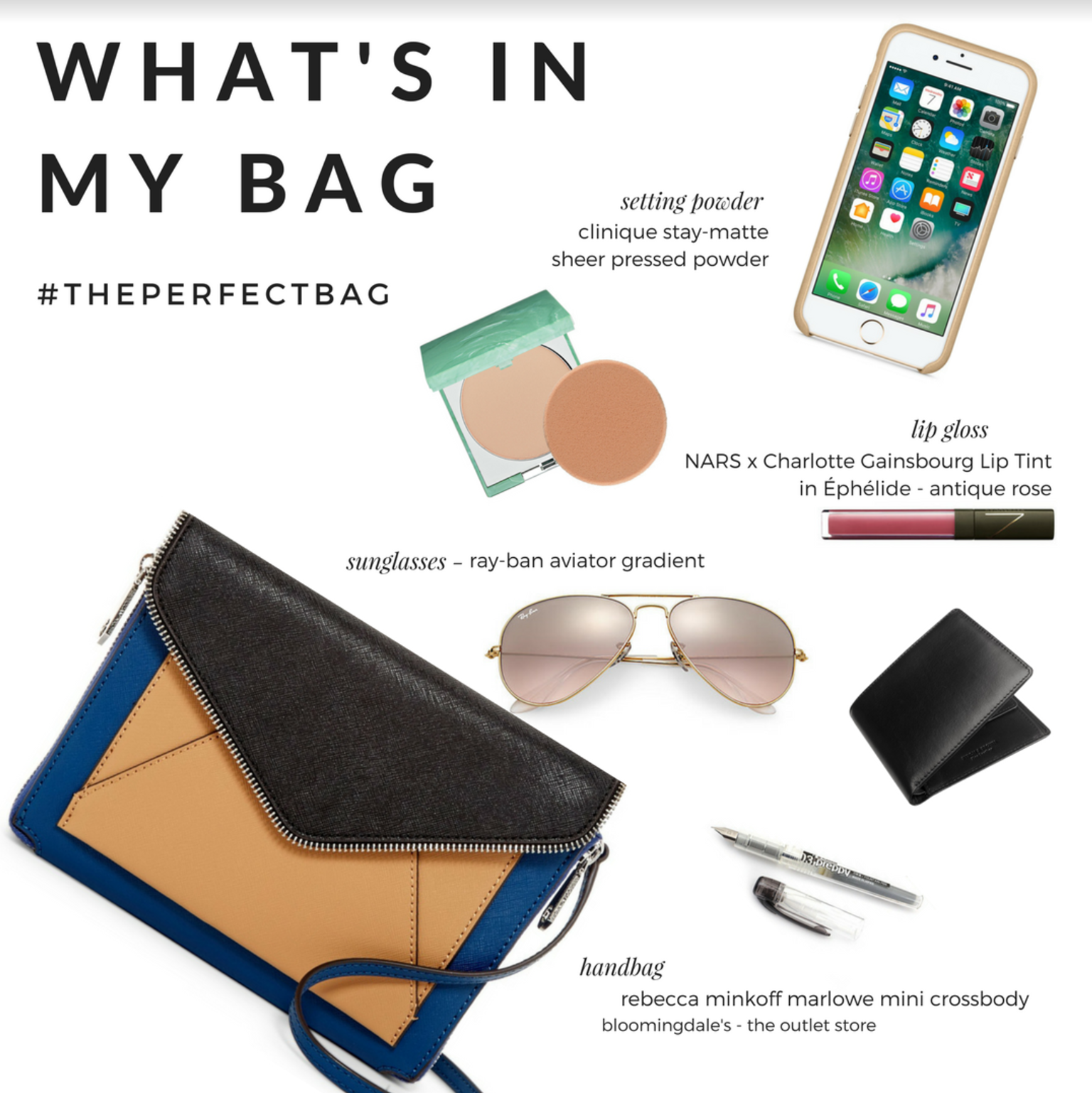 What's In My Bag? Here are my summer must haves whenever I'm out and about!