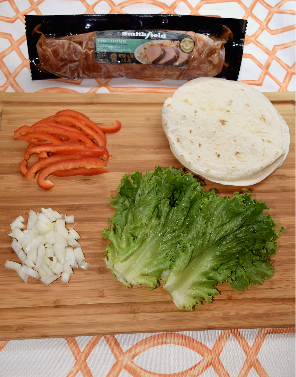 Get your recipe for delicious Sweet Teriyaki Pork Fajitas that takes only 30 minutes or less to make from start to finish!