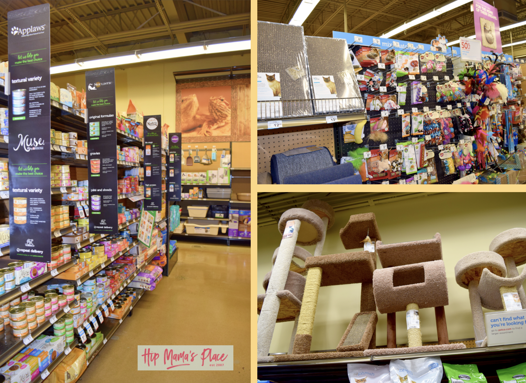 We love the convenience of getting our Purina Muse grain free wet and dry cat food at Petco!