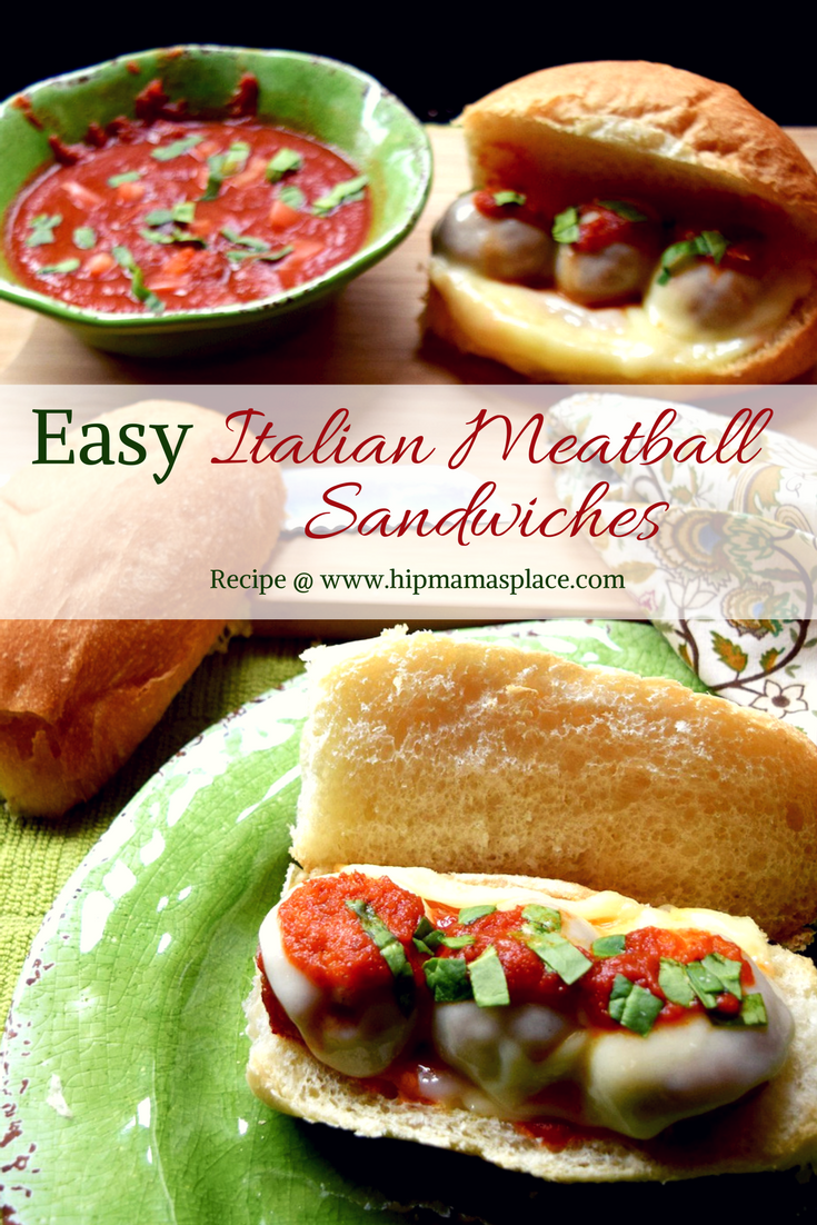 Simplify dinner tonight and make these Easy Italian Meatball Sandwiches made with Carando brand Abruzzese Recipe Italian Style Meatballs at Food Lion!
