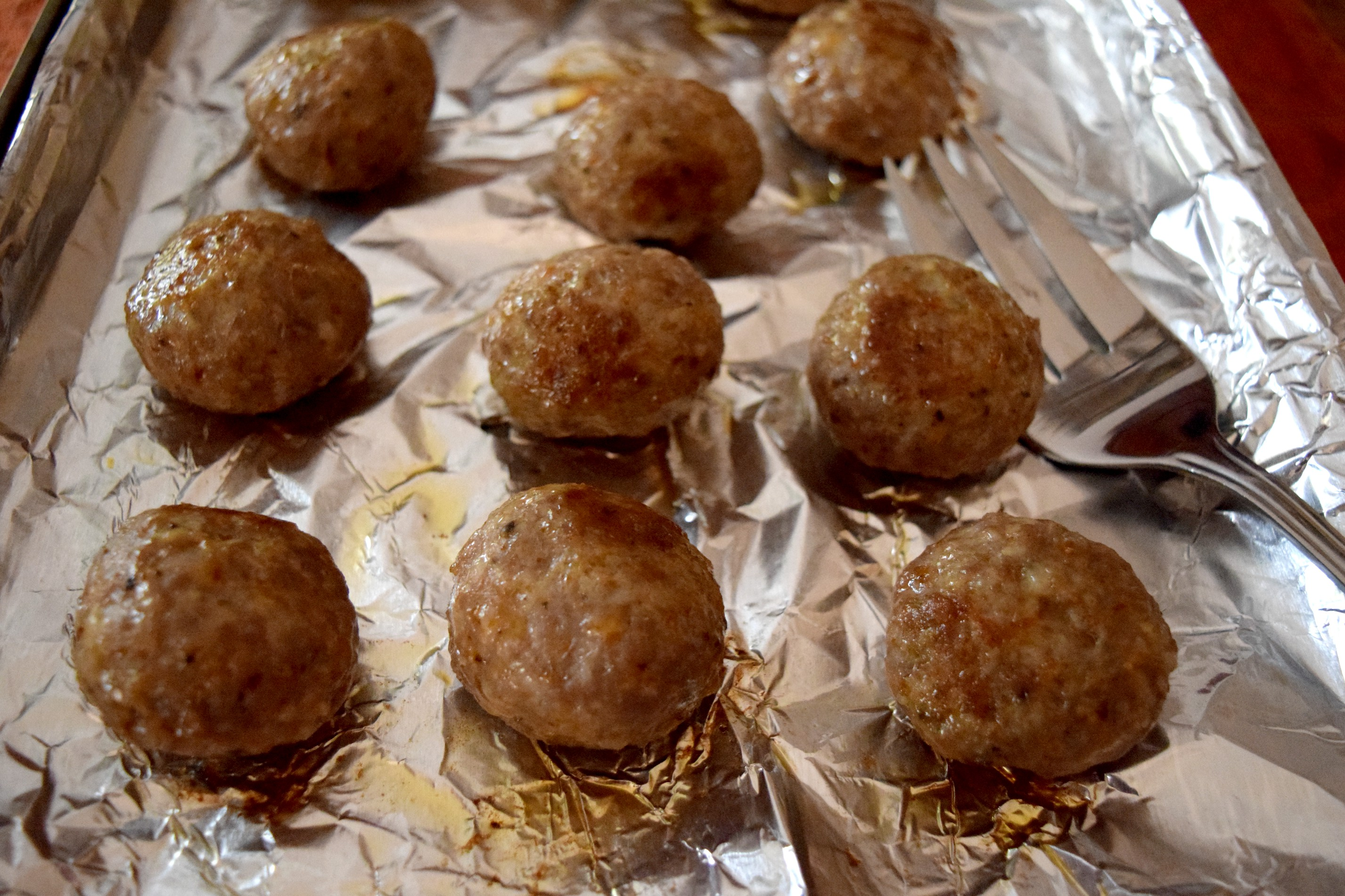 Carando Italian style meatballs bakes in the oven in under 20 minutes!