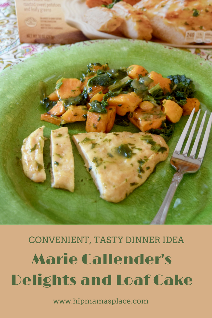 #AD Tasty and convenient! Marie Callender's Delight frozen entrees and Loaf Cake desserts are perfect to have for those hurried nights or when you just want to take a break from the kitchen!
