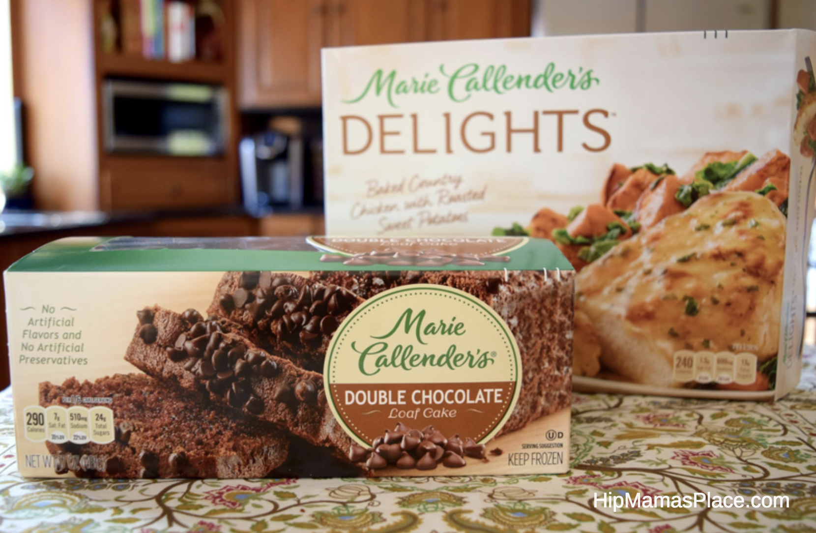 Recently, we've been loving the Marie Callender's Delights frozen dinners featuring many of our favorite comfort food favorites like the Balsamic Glazed Chicken with Harvest Vegetables, Baked Turkey Meatballs in a Crushed Tomato Basil Sauce and many more!