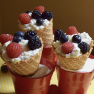 Berry Fresh Fruit Cones + Enter to Win Hood Cottage Cheese Coupons!