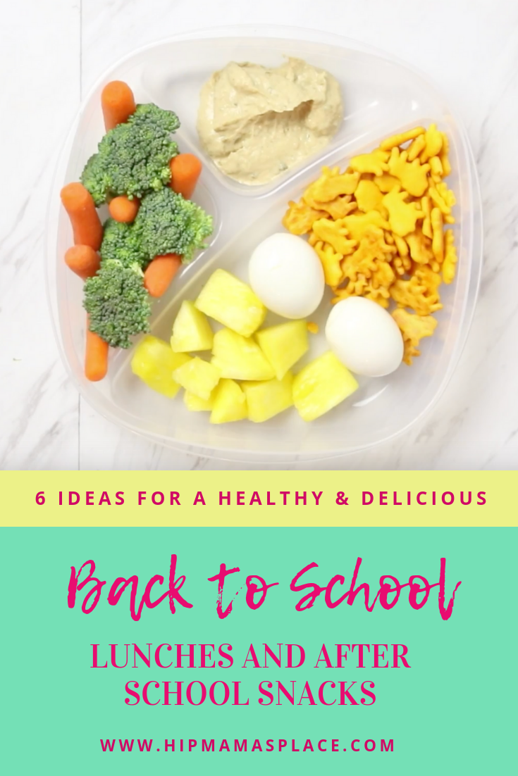 6 Ideas for a Healthy and Delicious Back to School Lunches and After School Snacks with O Organics at Safeway. Read more @ HipMamasPlace.com