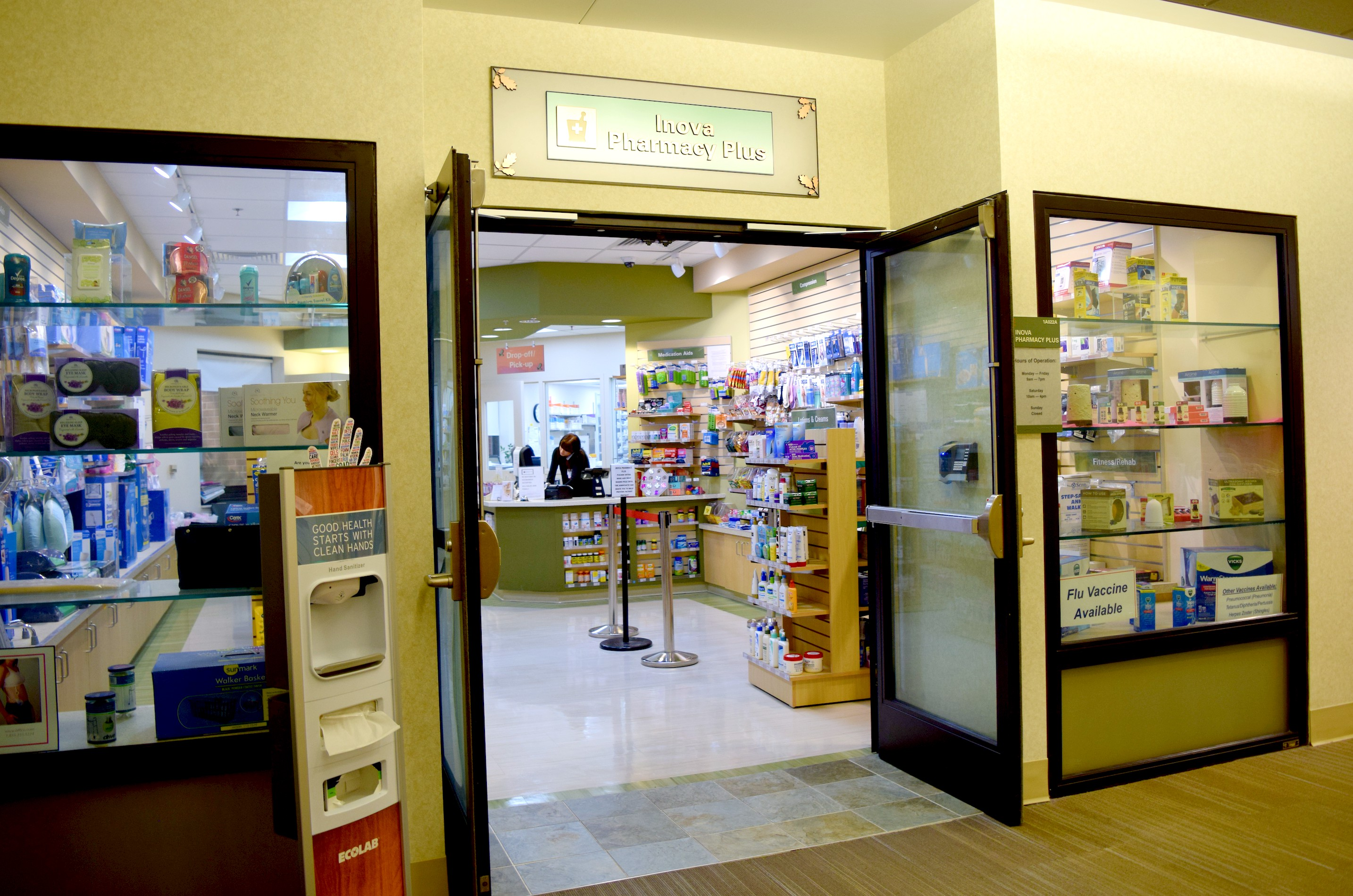 Inova Pharmacy Plus at Fair Oaks in Fairfax, Virginia is one of many designated locations where you can find the LifeInCheck drug disposal receptacle to dispose of your unused or expired drugs properly. Learn more at www.hipmamasplace.com! #AD #CollectiveBias #LICDrugDisposal