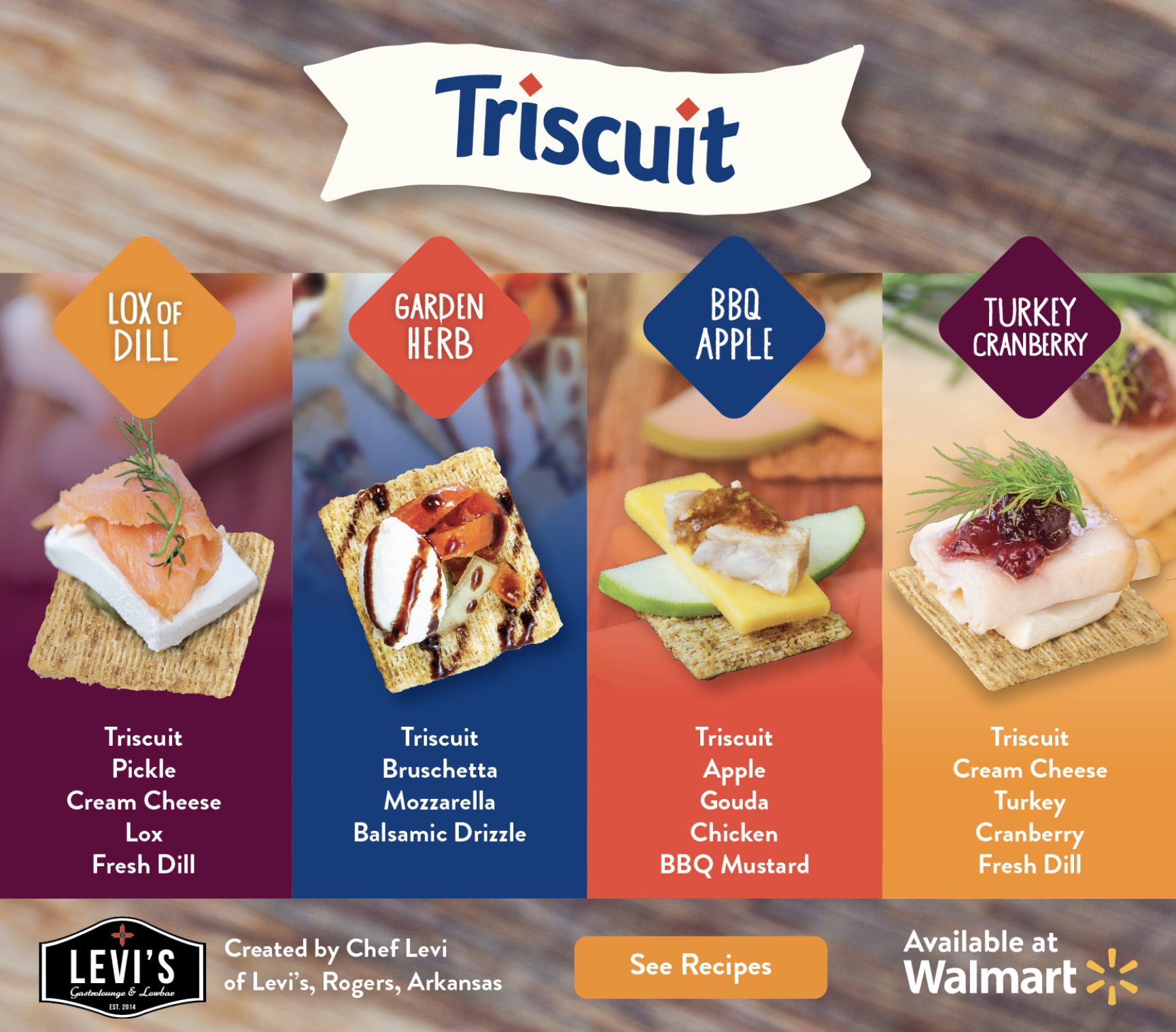 Triscuit Recipes Hub