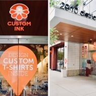 Our Custom Ink Experience – Mosaic District in Fairfax (Virginia)