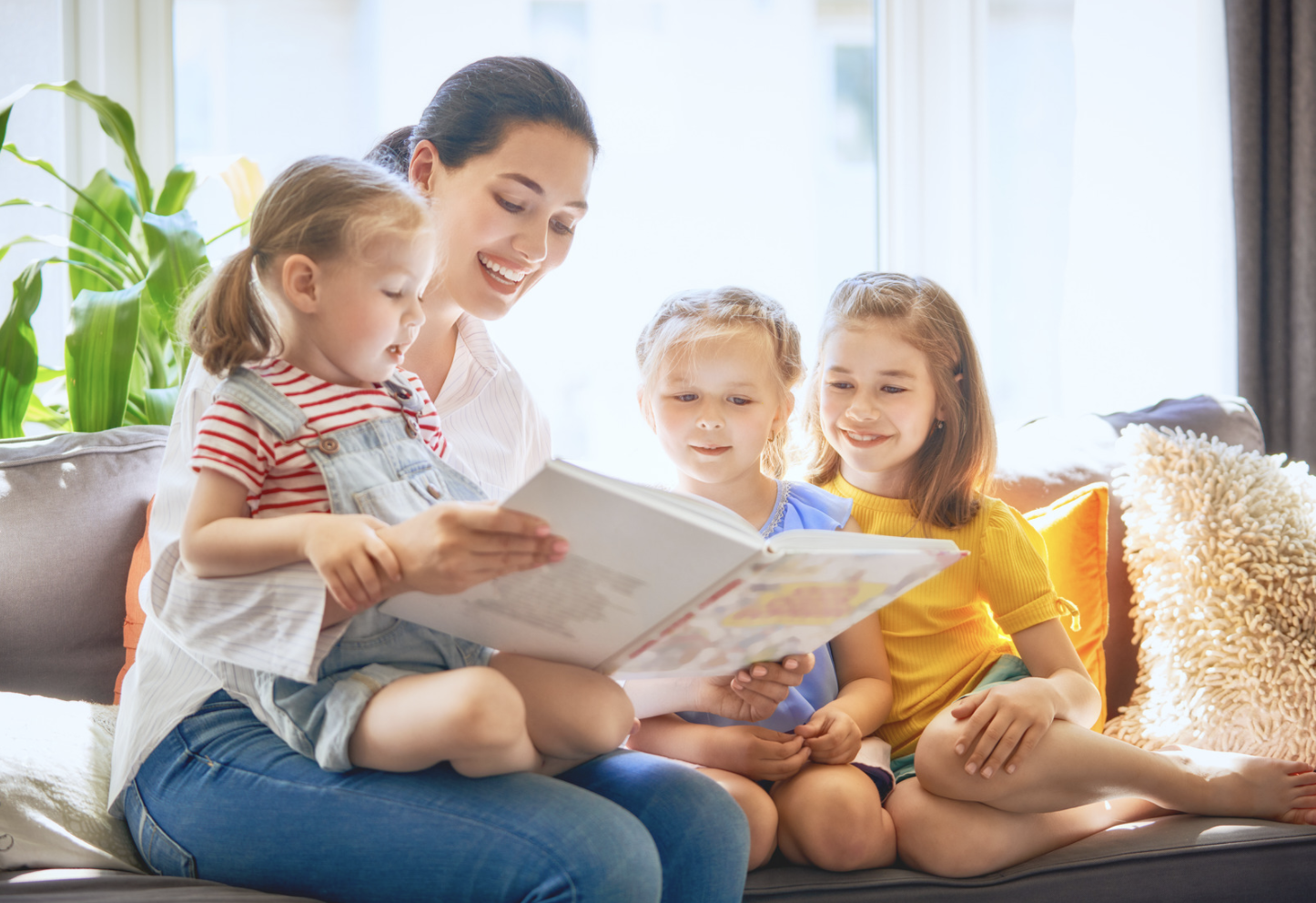 Read with your kids if you're stuck at home while on the COVID-19 crisis