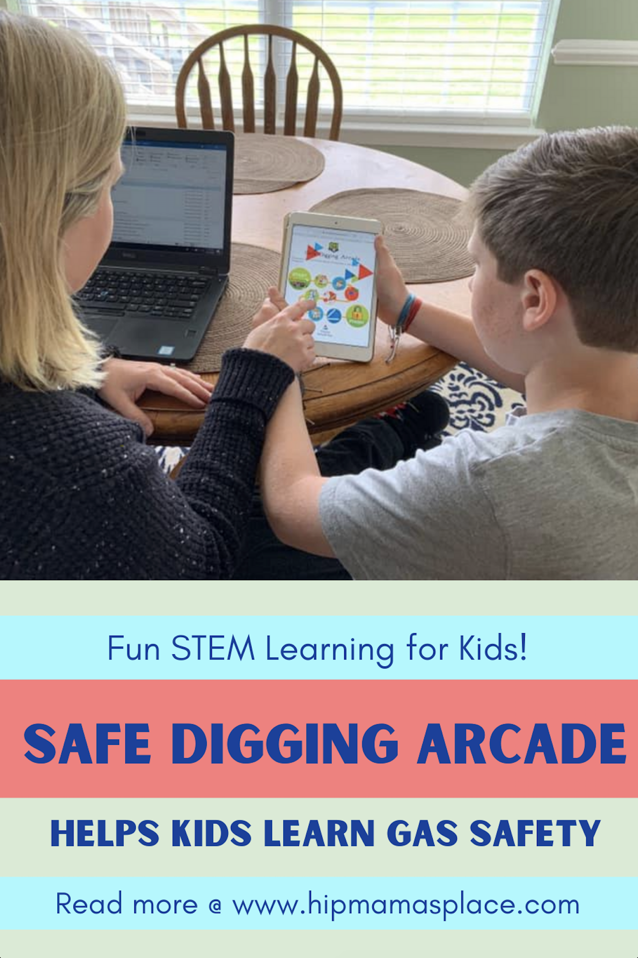 Keep children occupied while homeschooling with the Safe Digging Arcade- a digital learning tool that teaches kids about natural gas safety developed by Virginia Natural Gas and Southern Company Gas. #DigIn #SafeDiggingChampion #SafetyFirst #SafeDigging