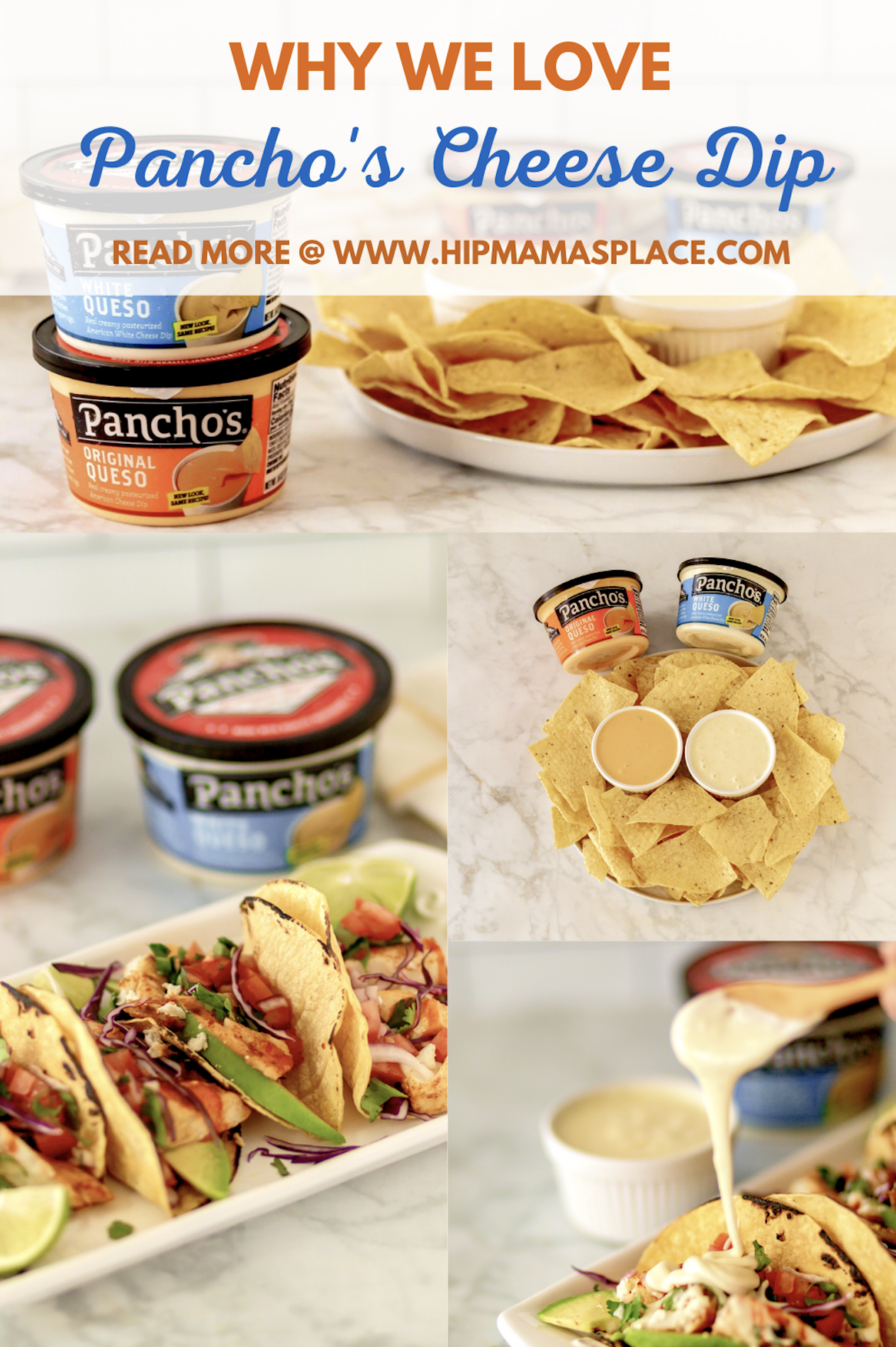 Burgers, hotdogs and s'mores may be on almost every barbecue menu, but the newest addition to our family's outdoor meals and snacks is Pancho's Queso Dip. #ad #BestDipOnThePlanet #PanchosPartner #quesodip #cheesedips #summersides #appetizers #nachodips
