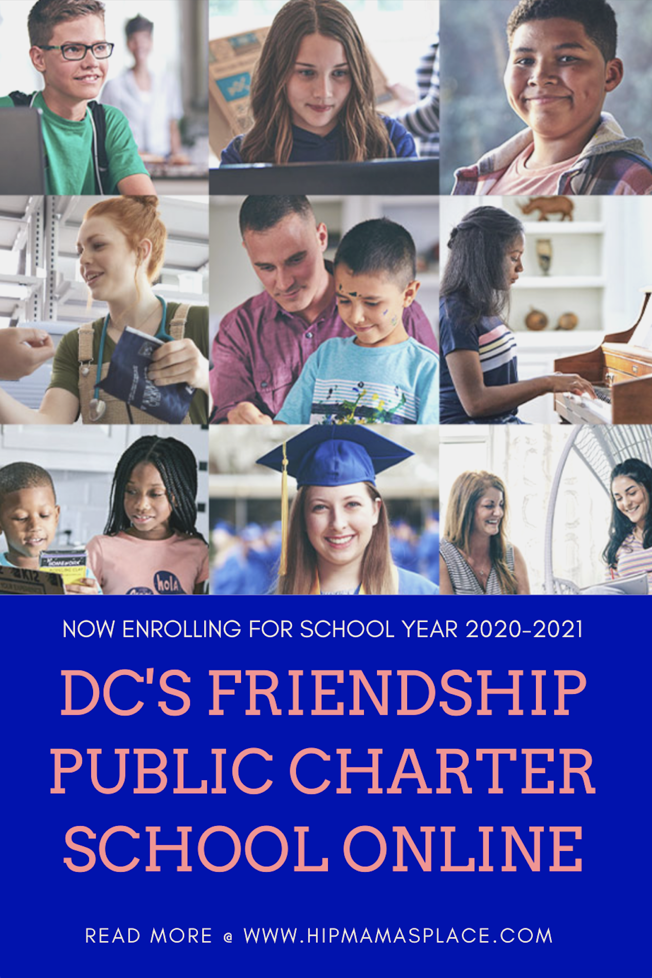 Friendship Public Charter School Online- a tuition-free public education for grades K-8 students in the District of Columbia, is now open for enrollment! #ad #education #WashingtonDC #FPCSO #DCCharterSchool #k12 #onlineeducation #onlinelearning #onlineclass #onlineschool #learningisfun #charterschool #charterschoolonline
