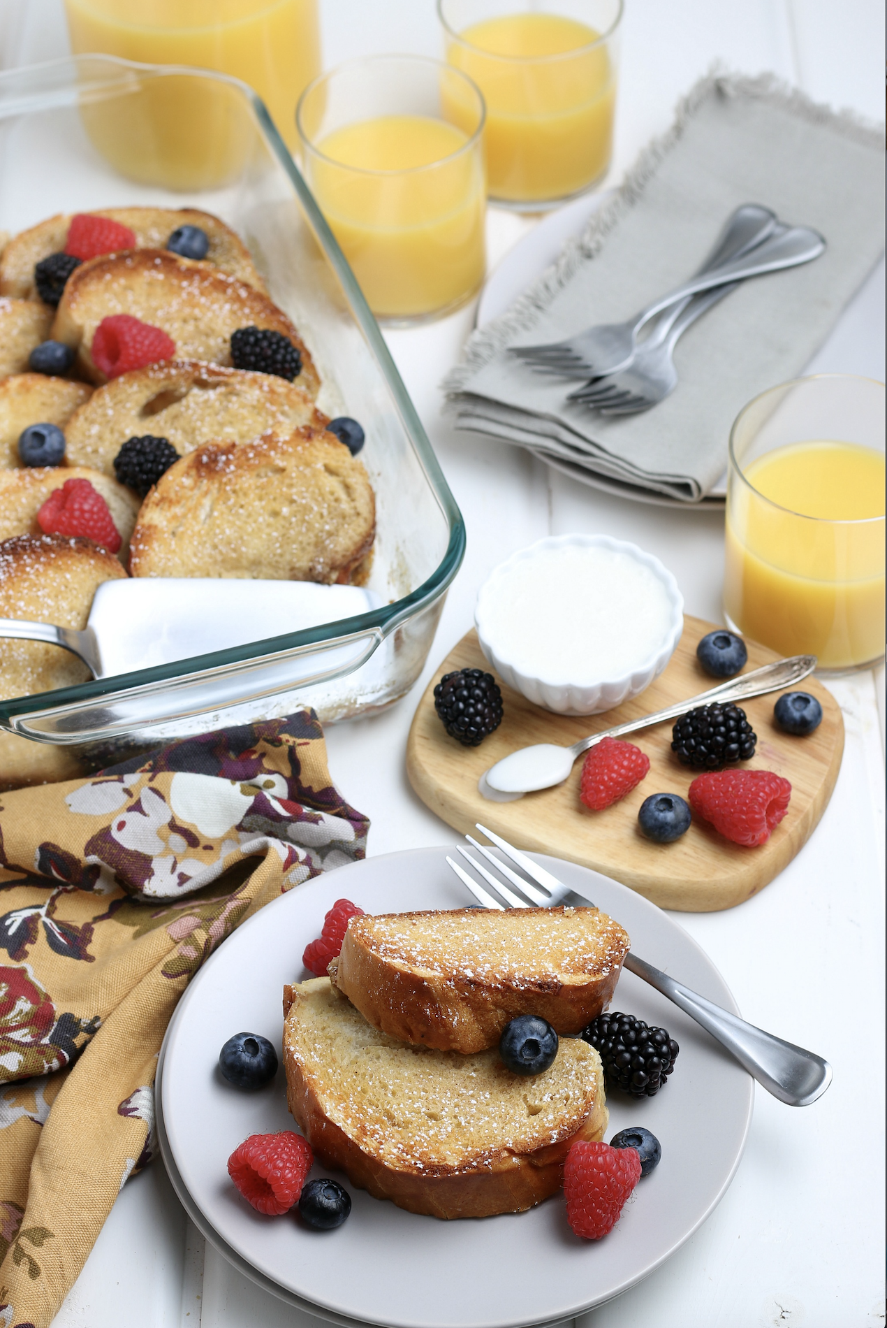 how to make overnight French toast